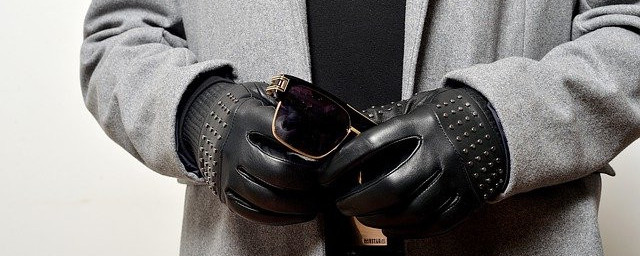 black women hand gloves