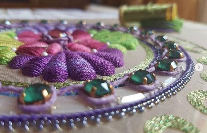 inga marita mandala embroidery