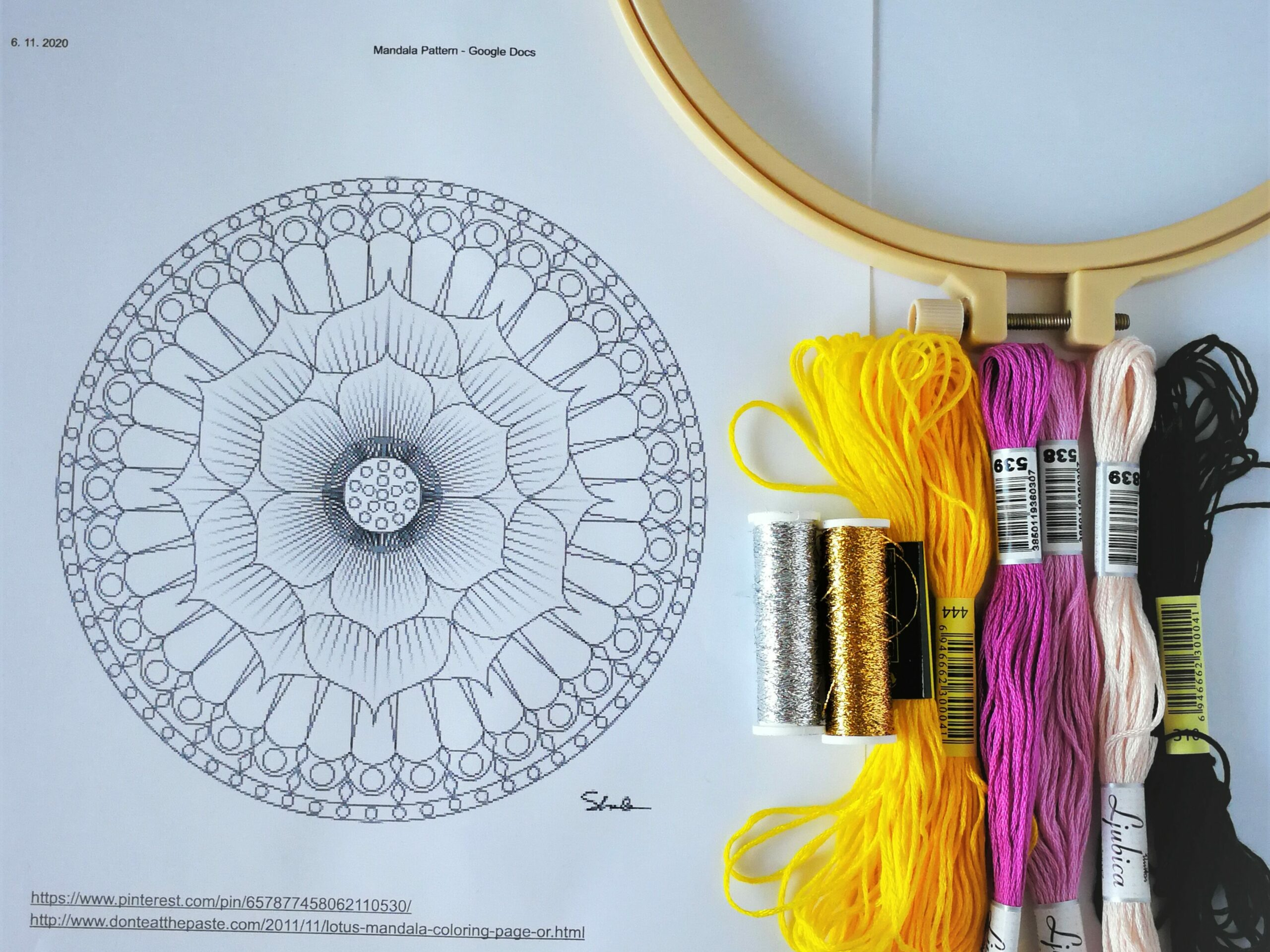 myembroiderypassions color combination mandala class myemboiderypassions blog embroidery mandala tutorial