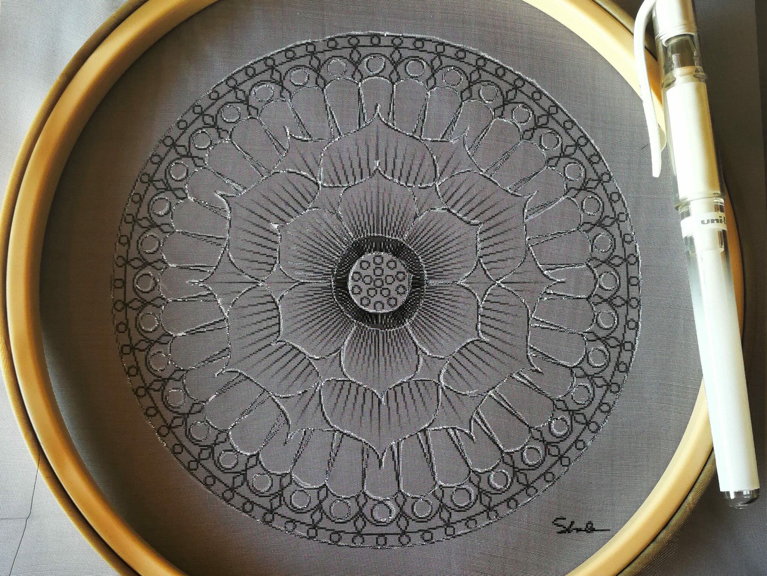 myemboiderypassions blog embroidery mandala tutorial