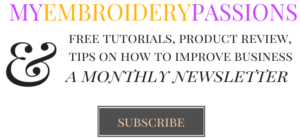myembroiderypassions newsletter subscribe