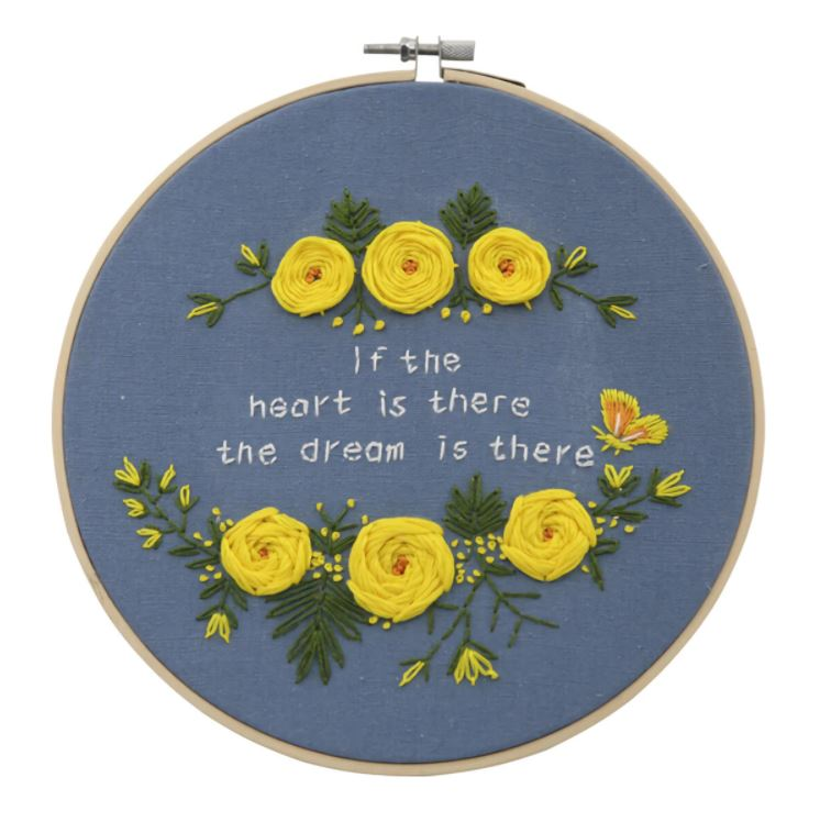 flower beginners embroidery kit myembroiderypassions 1