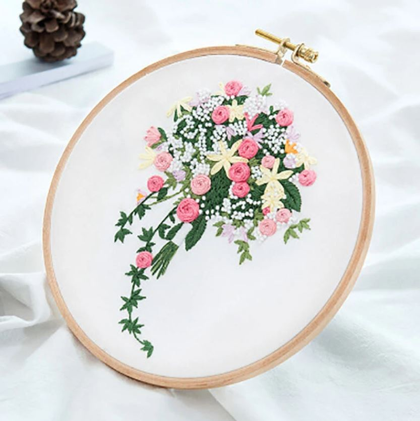 myembroiderypassions 3D flower embroidery kit